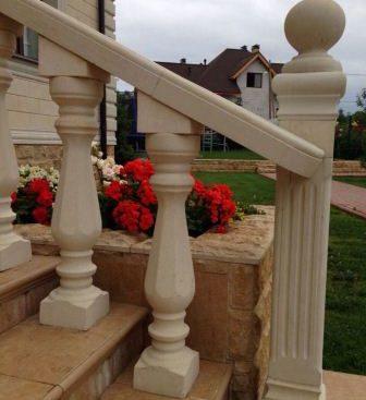 Балясины колонны из дагестанского камня