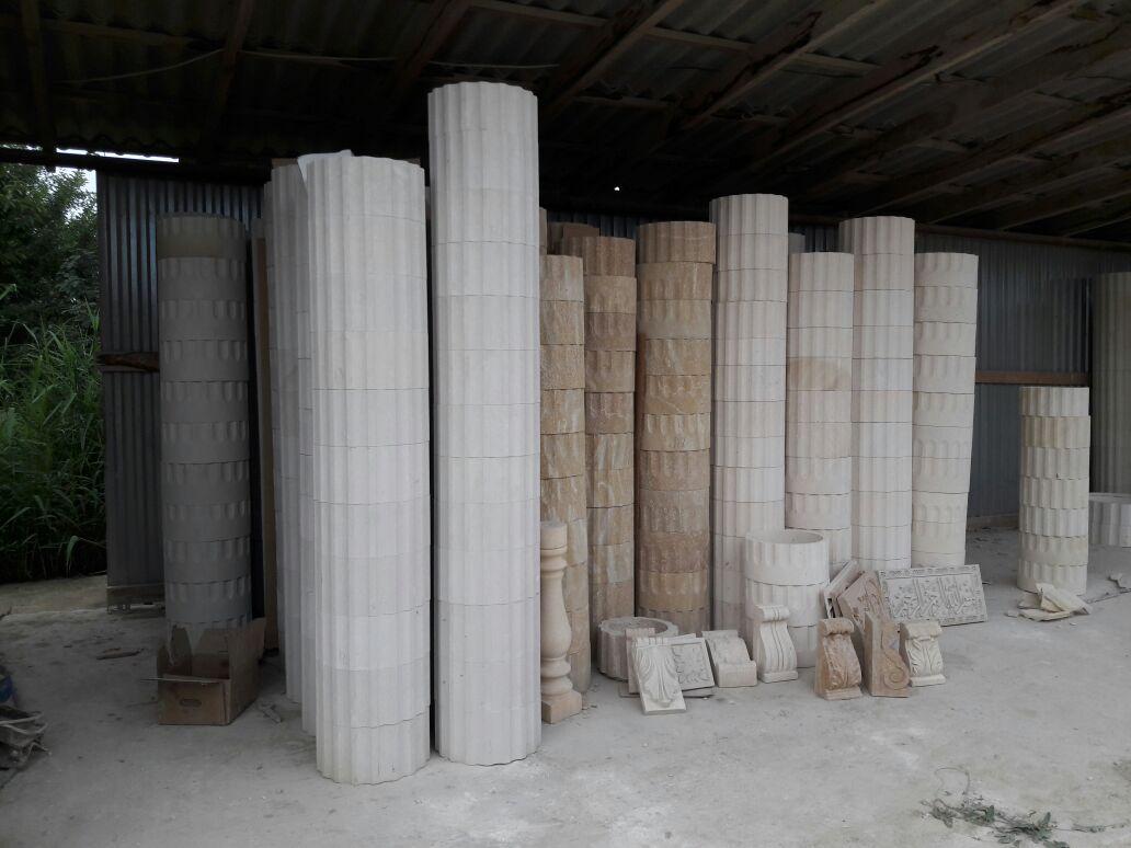 Балясины и кололнны из дагестанского камня