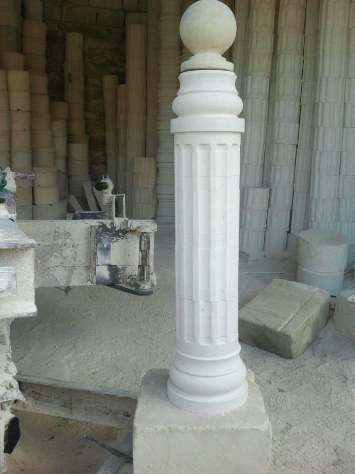 Балясины и колонны из дагестанского камня